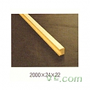 우드래티스(목망) 목망마감재[미송/30EA] 2000×24×22