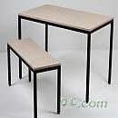 철재프레임-테이블의자[40각]