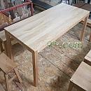화이트오크원목가구[Oak]-테이블 1800×800×720