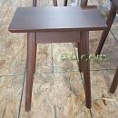 북미산월넛원목가구[Walnut] - 스툴[소] 390×300×450