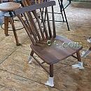북미산월넛원목가구[Walnut] - 원목의자 460×570×950