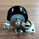 우레탄바퀴-회전용(브레이크) 38mm